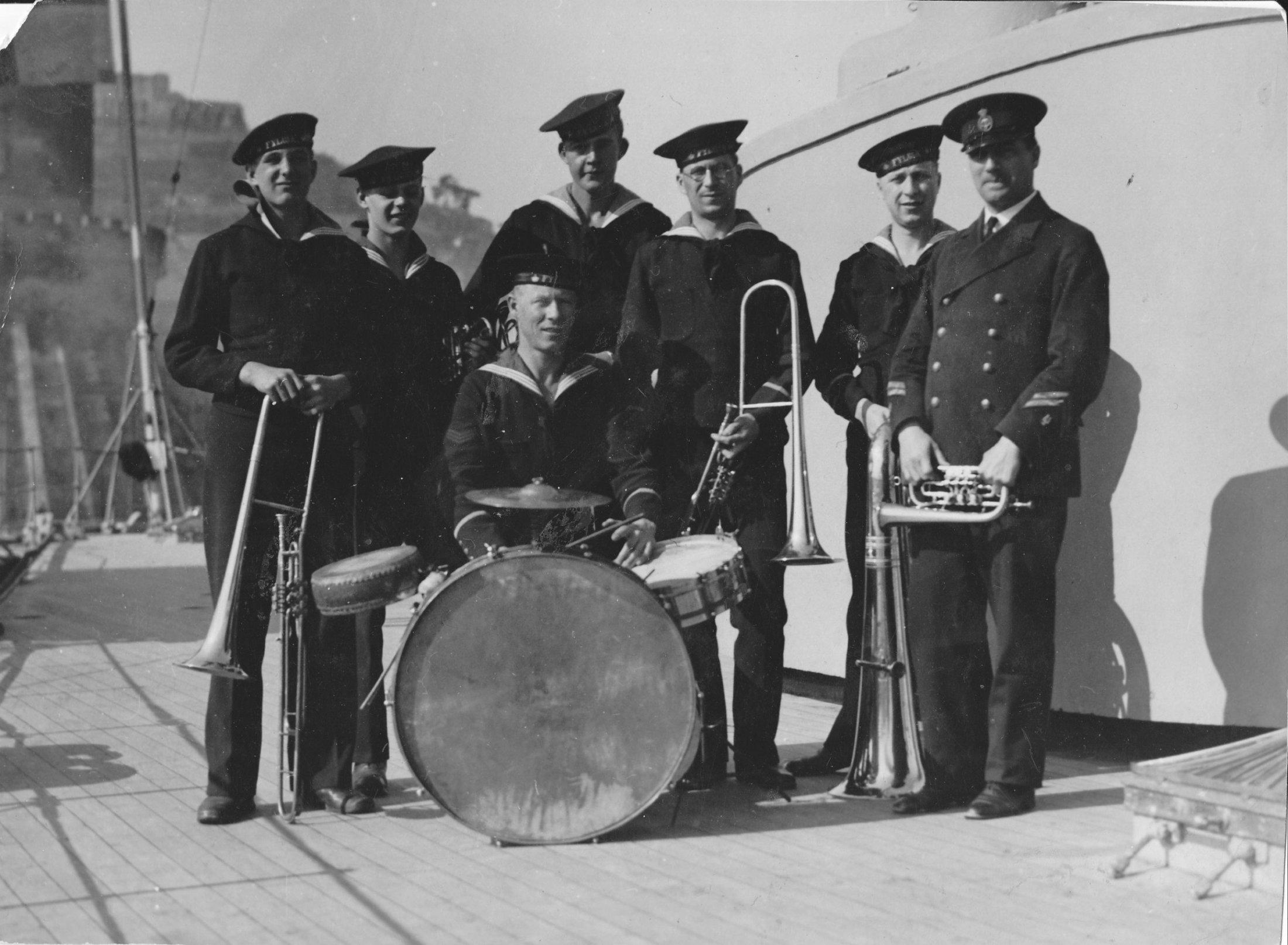 Sextett från Fylgiaresan 1932 – 33